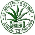 Aloe ForEver riceve 4 Preziosi Marchi   per qualità e purezza  dell'Aloe contenuta nei suoi prodotti.
